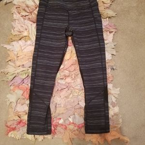 Lululemon Striped Leggings